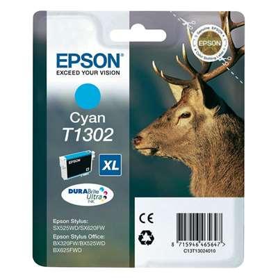 Εικόνα της Μελάνι Epson T1302 Cyan XL C13T130240