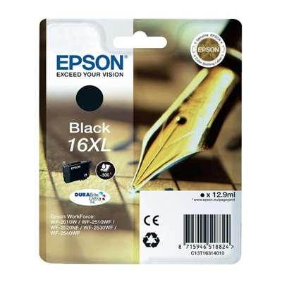 Εικόνα της Μελάνι Epson T1631 Black HC C13T16314010