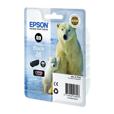 Εικόνα της Μελάνι Epson 26 XL Photo Black C13T26314010