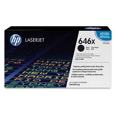 Εικόνα της Toner HP Black HC CE264X