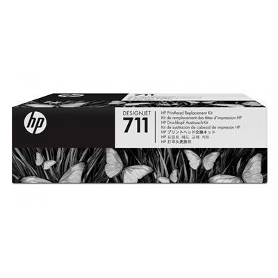 Εικόνα της Κεφαλή Εκτύπωσης HP No 711 Black C1Q10A
