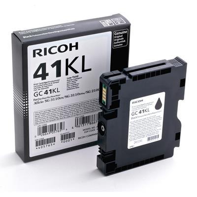 Εικόνα της Μελάνι Ricoh GC-41KL Black 405765