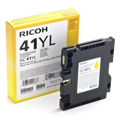 Εικόνα της Μελάνι Ricoh GC-41YL Yellow 405768