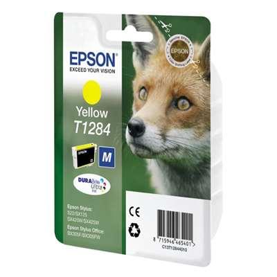 Εικόνα της Μελάνι Epson T1284 Yellow C13T128440
