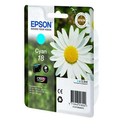 Εικόνα της Μελάνι Epson T180240 Cyan C13T18024010