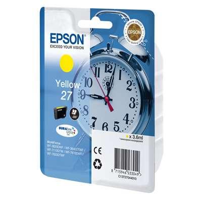 Εικόνα της Μελάνι Epson T270440 Yellow C13T27044010