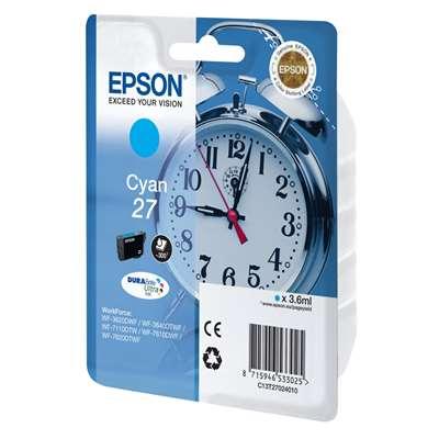 Εικόνα της Μελάνι Epson T270240 Cyan C13T27024010