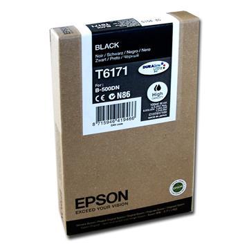 Εικόνα της Μελάνι Epson T6171 Black HC C13T617100