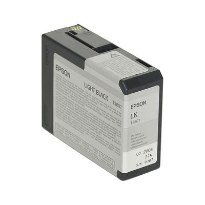 Εικόνα της Μελάνι Epson T5807 Light Black C13T580700