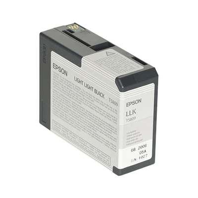 Εικόνα της Μελάνι Epson T5809 Light Light Black C13T580900
