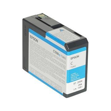 Εικόνα της Μελάνι Epson T5802 Cyan C13T580200