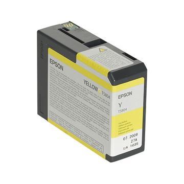 Εικόνα της Μελάνι Epson T5804 Yellow C13T580400