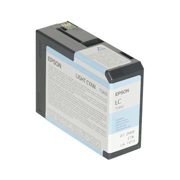 Εικόνα της Μελάνι Epson T5805 Light Cyan C13T580500