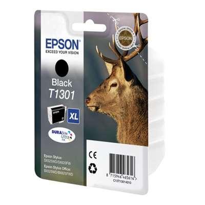 Εικόνα της Μελάνι Epson T1301 Black XL C13T130140