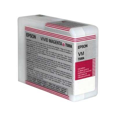 Εικόνα της Μελάνι Epson T580A Vivid Magenta C13T580A00