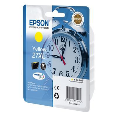 Εικόνα της Μελάνι Epson 27XL Yellow C13T27144010