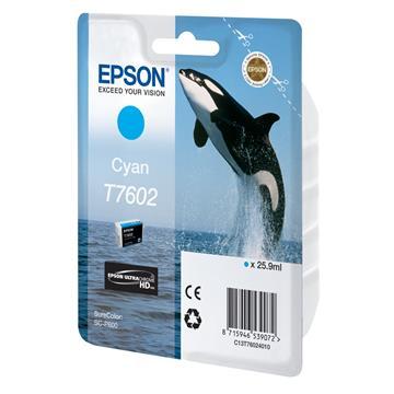 Εικόνα της Μελάνι Epson T7602 Cyan C13T76024010