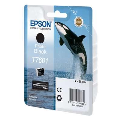Εικόνα της Μελάνι Epson T7601 Photo Black C13T76014010