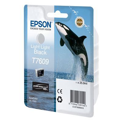 Εικόνα της Μελάνι Epson T7609 Light Light Black C13T76094010