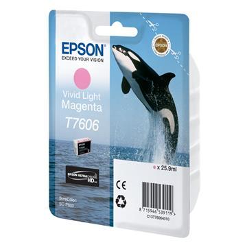 Εικόνα της Μελάνι Epson T7606 Vivid Light Magenta C13T76064010