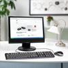 Εικόνα της Πληκτρολόγιο-Ποντίκι Logitech Ενσύρματο MK120 920-002541