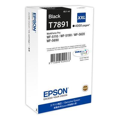 Εικόνα της Μελάνι Epson T7891 Black XXL C13T789140