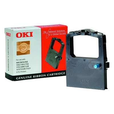 Εικόνα της Μελανοταινία Oki ML182 Black 09002303