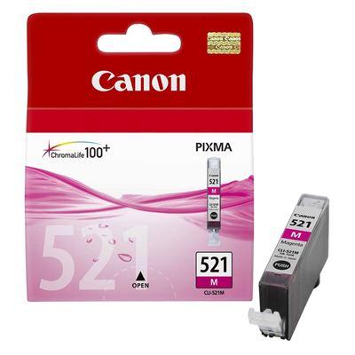 Εικόνα της Μελάνι Canon CLI-521M Magenta 2935B001