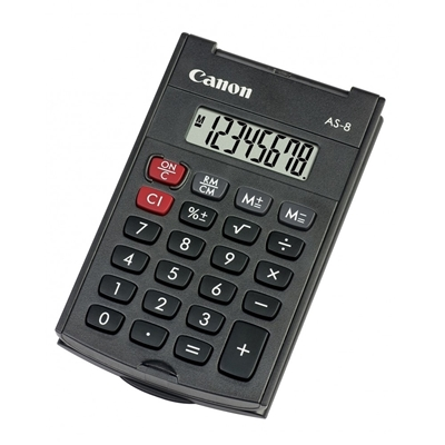 Εικόνα της Αριθμομηχανή 8 Ψηφίων Canon AS-8 4598B001AB