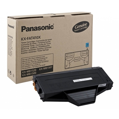 Εικόνα της Toner Panasonic Black KX-FAT410X
