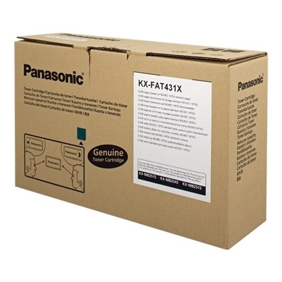 Εικόνα της Toner Panasonic Black KX-FAT431X