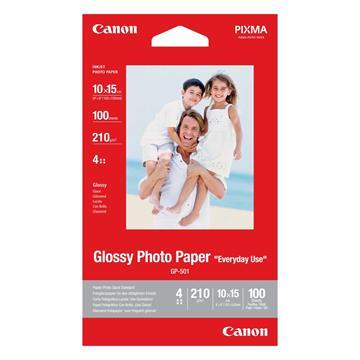 Εικόνα της Φωτογραφικό Χαρτί Canon GP-501 A6 Glossy 210g/m² 100 Φύλλα 0775B003