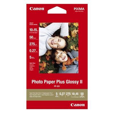 Εικόνα της Φωτογραφικό Χαρτί Canon PP-201 A6 Plus Glossy 275g/m² 50 Φύλλα 2311B003
