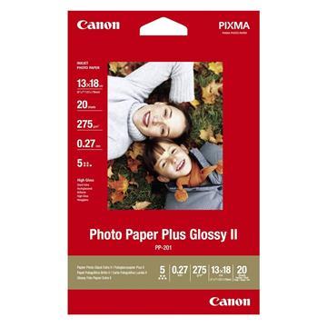 Εικόνα της Φωτογραφικό Χαρτί Canon PP-201 13 x 18 Glossy 275g/m² 20 Φύλλα 2311B018