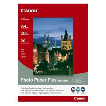 Εικόνα της Φωτογραφικό Χαρτί Canon SG-201 A4 Plus Semi Gloss 260g/m² 20 Φύλλα 1686B021