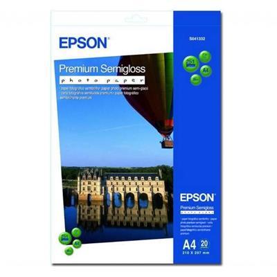 Εικόνα της Φωτογραφικό Χαρτί Epson A4 Semi Gloss 251g/m² 20 Φύλλα C13S041332