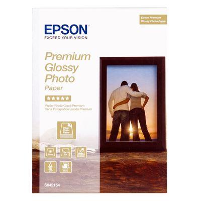 Εικόνα της Φωτογραφικό Χαρτί Epson 13 x 18 cm Premium Glossy 225g/m² 30 Φύλλα C13S042154