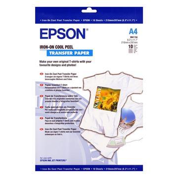 Εικόνα της Χαρτί Iron-On-Transfer Epson A4 124g/m² 10 Φύλλα C13S041154