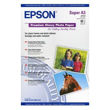 Εικόνα της Φωτογραφικό Χαρτί Epson A3+ Premium Glossy 250g/m² 20 Φύλλα C13S041316