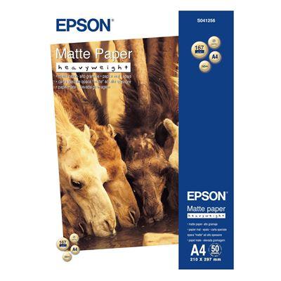 Εικόνα της Φωτογραφικό Χαρτί Epson Heavyweight A4 Matte 167g/m² 50 Φύλλα C13S041256