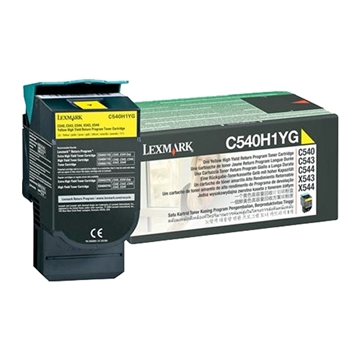 Εικόνα της Toner Lexmark C54x / X54x Yellow High Yield C540H1Y