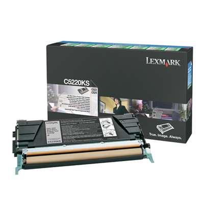 Εικόνα της Toner Lexmark C522 / C524 / C53x Black C5220KS