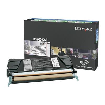 Εικόνα της Toner Lexmark C520 / C530 Black C5200KS