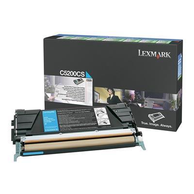 Εικόνα της Toner Lexmark C520 / C530 Cyan C5200CS