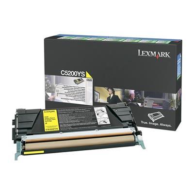 Εικόνα της Toner Lexmark C520 / C530 Yellow C5200YS