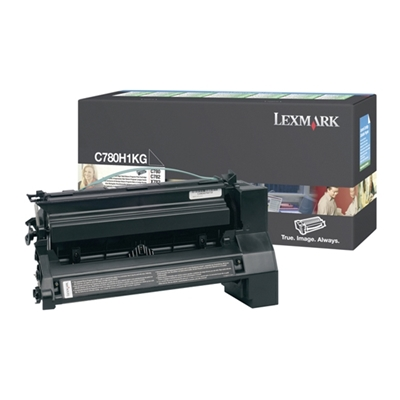 Εικόνα της Toner Lexmark C780 / C782 Black High Yield C780H1KG