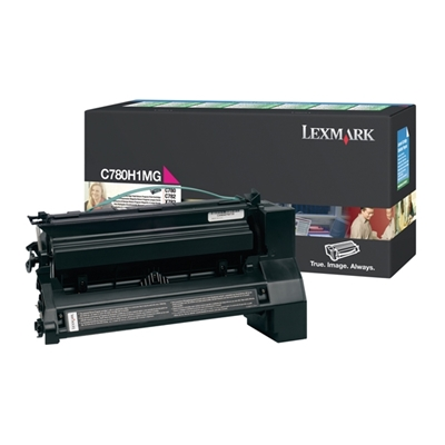 Εικόνα της Toner Lexmark C780 / C782 Magenta High Yield C780H1MG