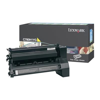 Εικόνα της Toner Lexmark C780 / C782 Yellow High Yield C780H1YG