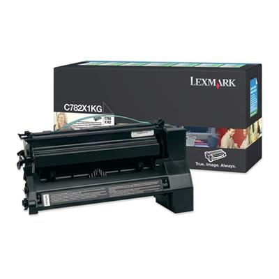 Εικόνα της Toner Lexmark C782 Black Extra High Yield C782X1KG