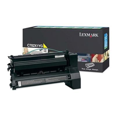 Εικόνα της Toner Lexmark C782 Yellow Extra High Yield C782X1YG